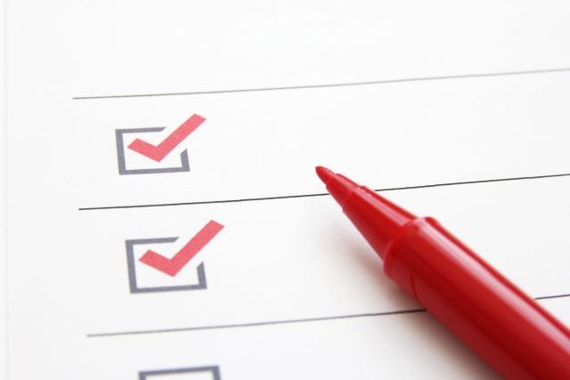 スキル管理のためのチェックリストイメージ