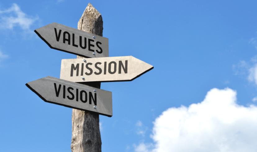 人事評価のミッション、ビジョン、バリュー