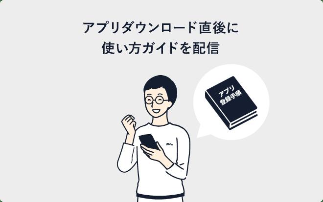 マニュアルの自動送信