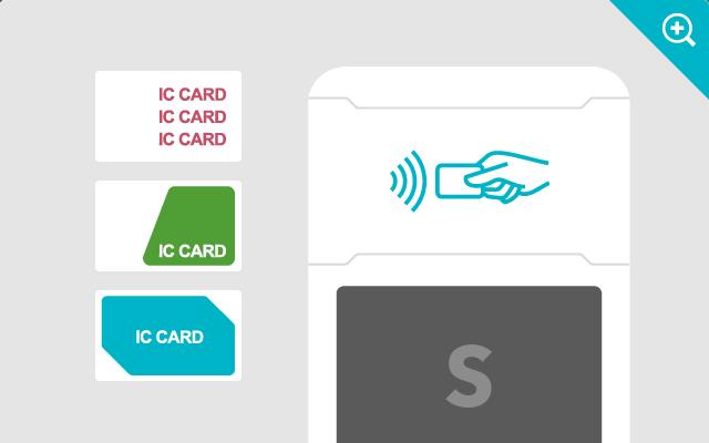 ICカードタッチ